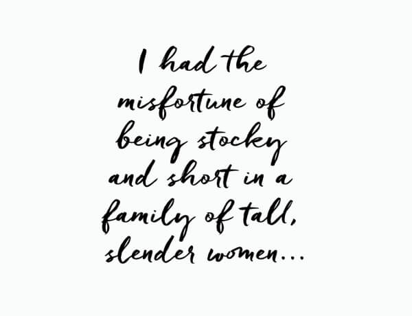 Dear Diary, I've Always Felt Like The Other Sister Via @GirlWithCurves