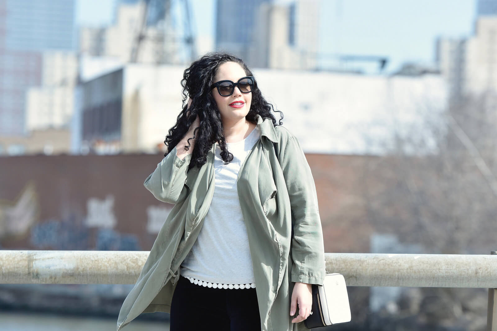 Must Have Of The Moment, Leggings via @GirlWithCurves #fashion #style #outfit #leggings #plussize #plussizefashion #utilityjacket