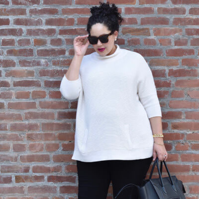 Fall outfit on repeat via @GirlWithCurves, #outfit #style #fashion #plussize #fall
