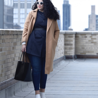 A Sophisticated Outfit You Can Wear To Work Via @GirlWithCurves #style #outfits #fashion