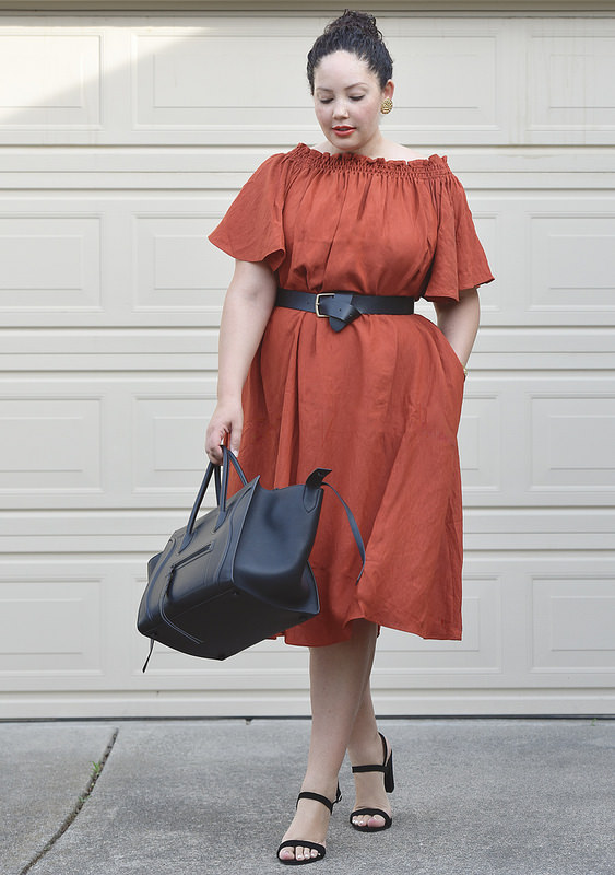 The Go To Dress Of Spring Via @GirlWithCurves #style #trends #fashion