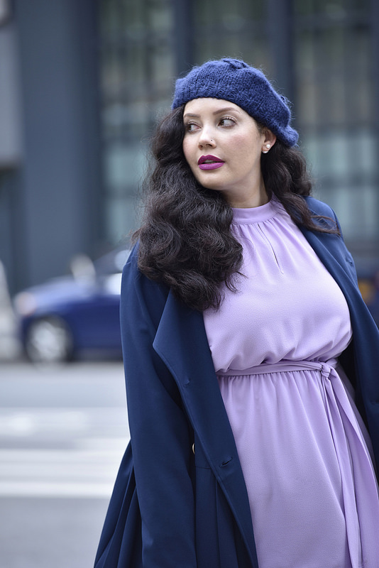 Girl With Curves X Lane Bryant Collection Pleated Trench Dress With Belted Tunic Via @GirlWithCurves #GWCxLB