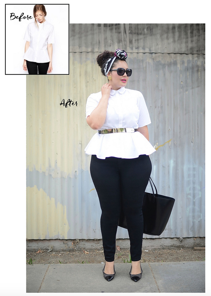How To Belt Anything Via @GirlWithCurves #style #fashion #outfits #blogger #belted #plus #size