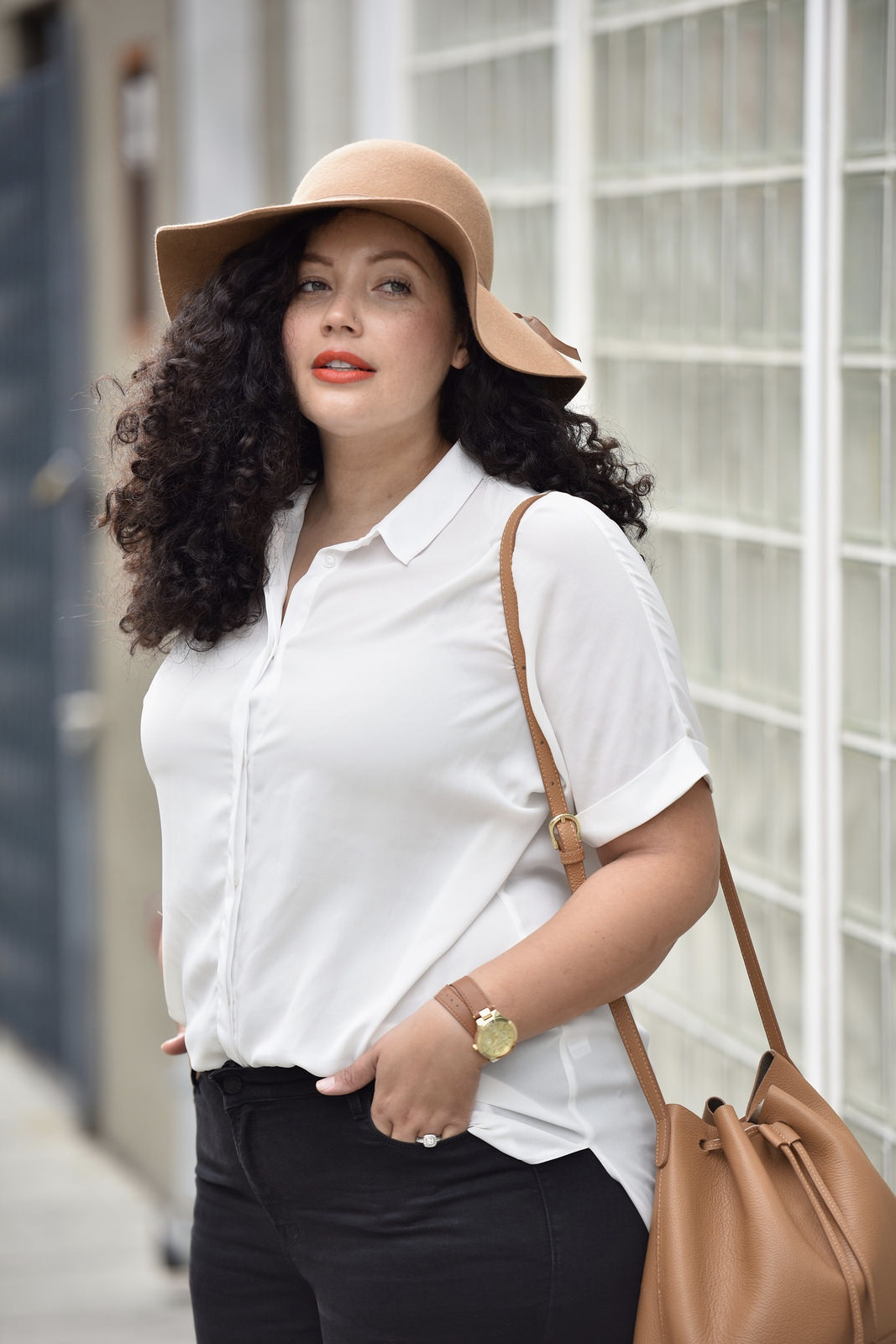 3 Ways To Reinvent Your Button Down Blouse Via Girl With Curves #outfits #fashion #style #blogger #ideas #curvy