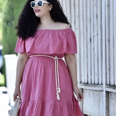 This Budget Friendly Dress Looks Amazing On Everyone Via @GirlWithCurves #curvy #budget #style #outfits #fashion
