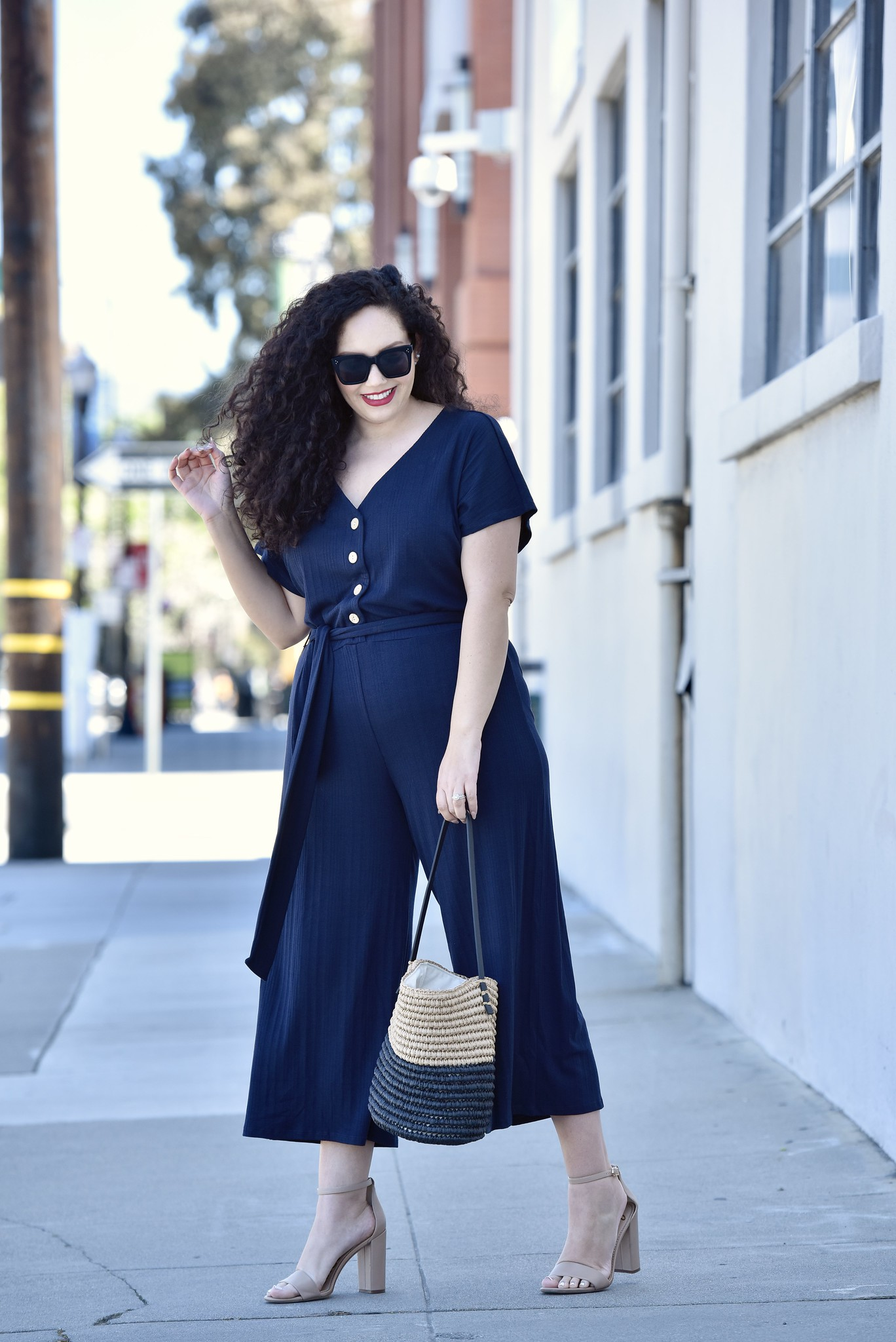 This Is What I Can't Stop Wearing Via @GirlWithCurves #jumpsuit #fashion #style #summer #spring #violeta #nars #celine