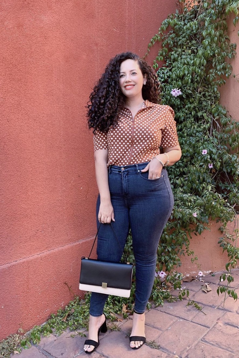 Girl With Curves Approved Best Plus Size Denim Via Girl With Curves #jeans #skinny #casual #outfits #instagram