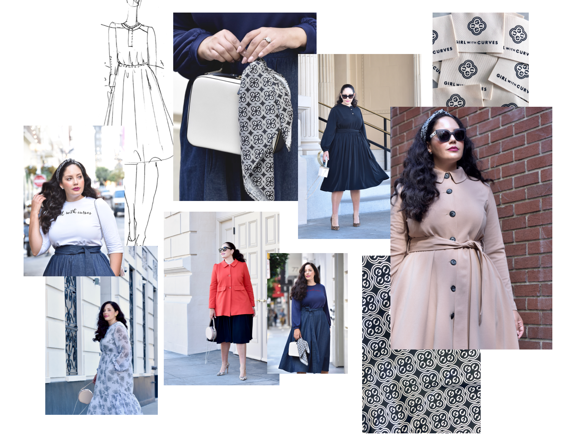 Girl With Curves Collection fall 2019 #plussize #curvy #fashion #style